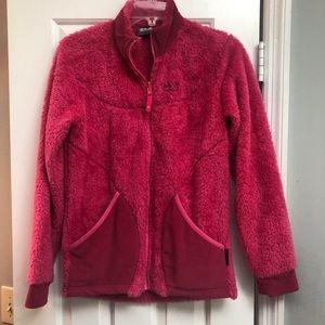 Jack Wolfskin Girls Lightweight Pink Jacket Sz 14